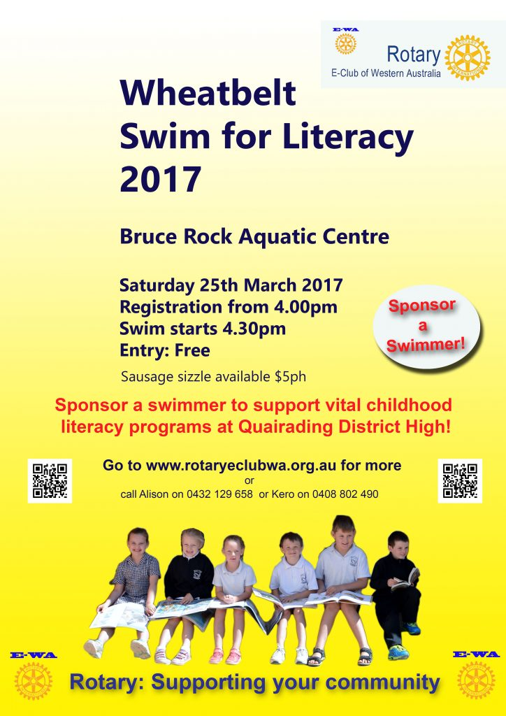 Bruce Rock Swim Quairading Poster