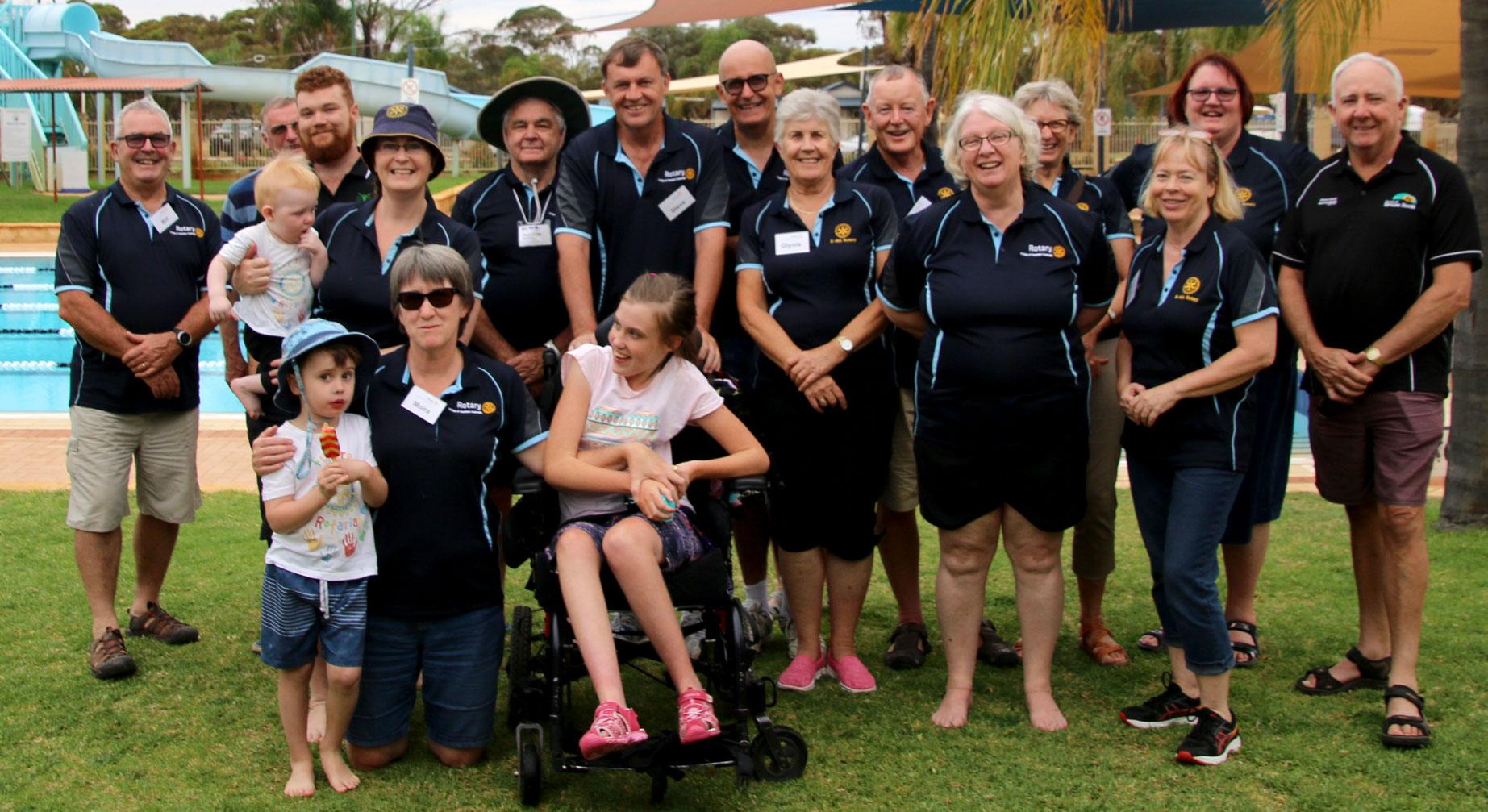 Our Rotary E-WA Team